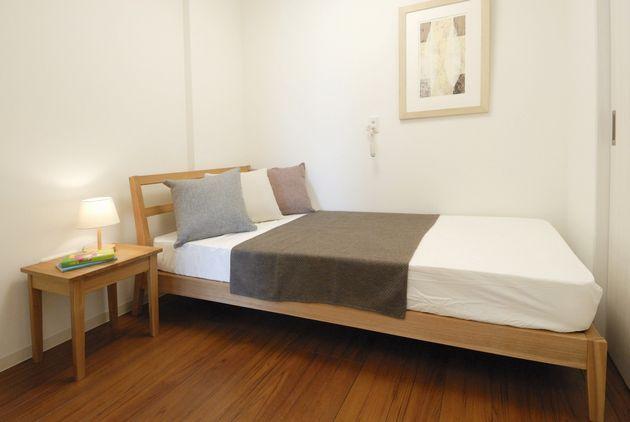 Aタイプの寝室