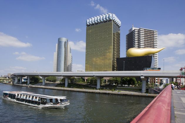 吾妻橋と水上バス