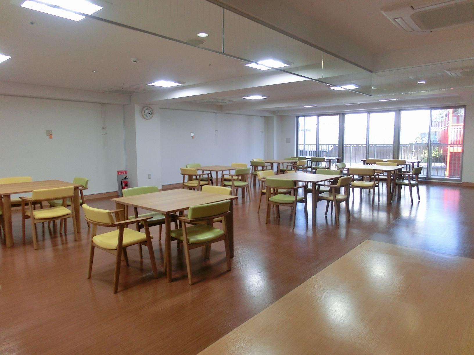 広々とした食堂です。