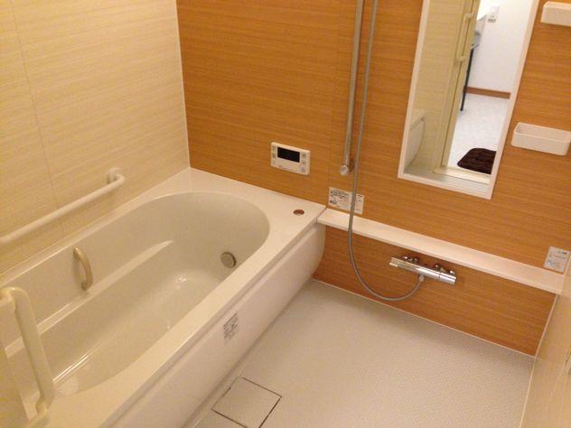 <使いやすい浴室>