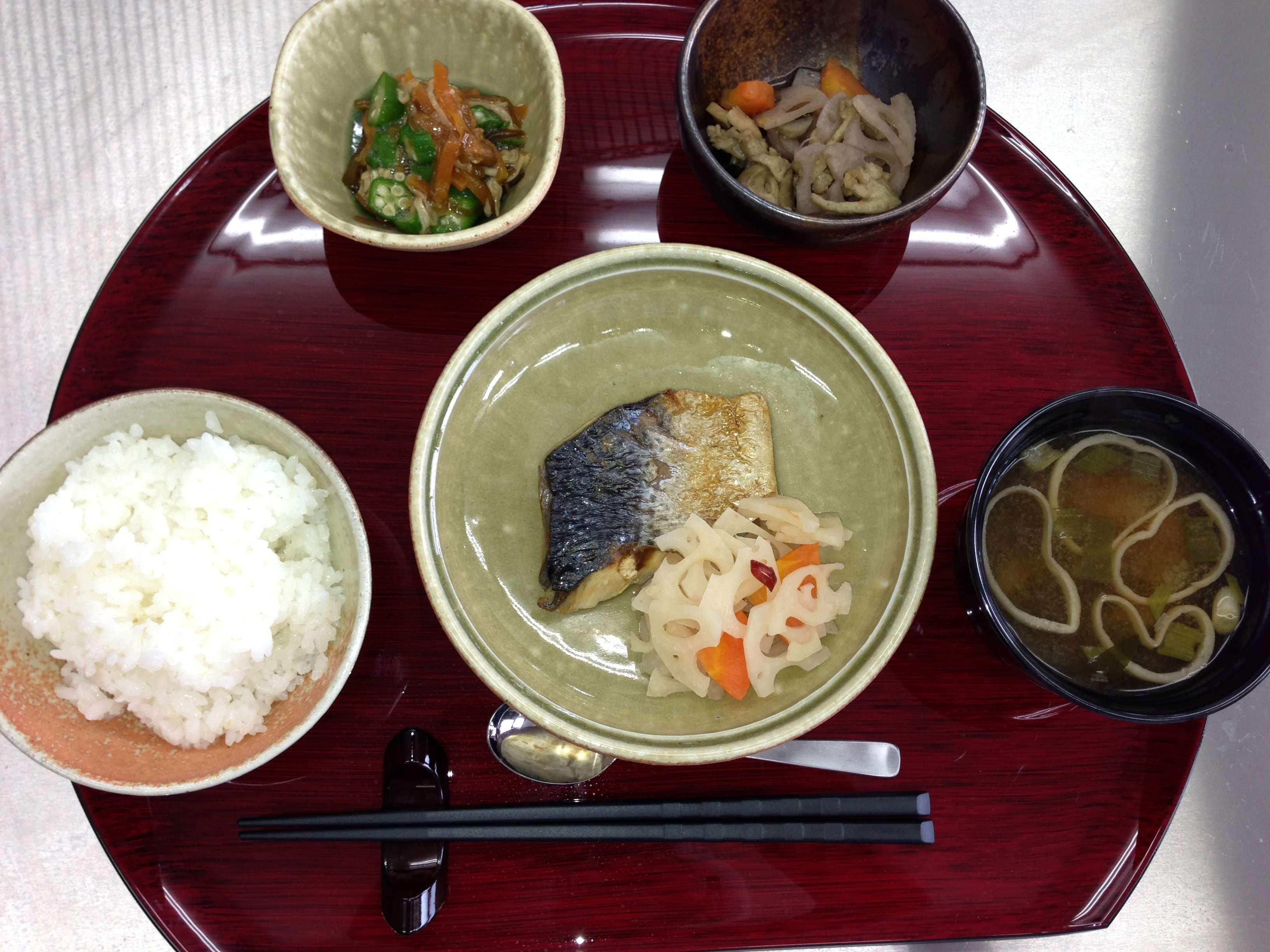 和食の定番のお魚定食