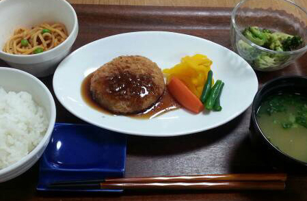 肉料理の一例.