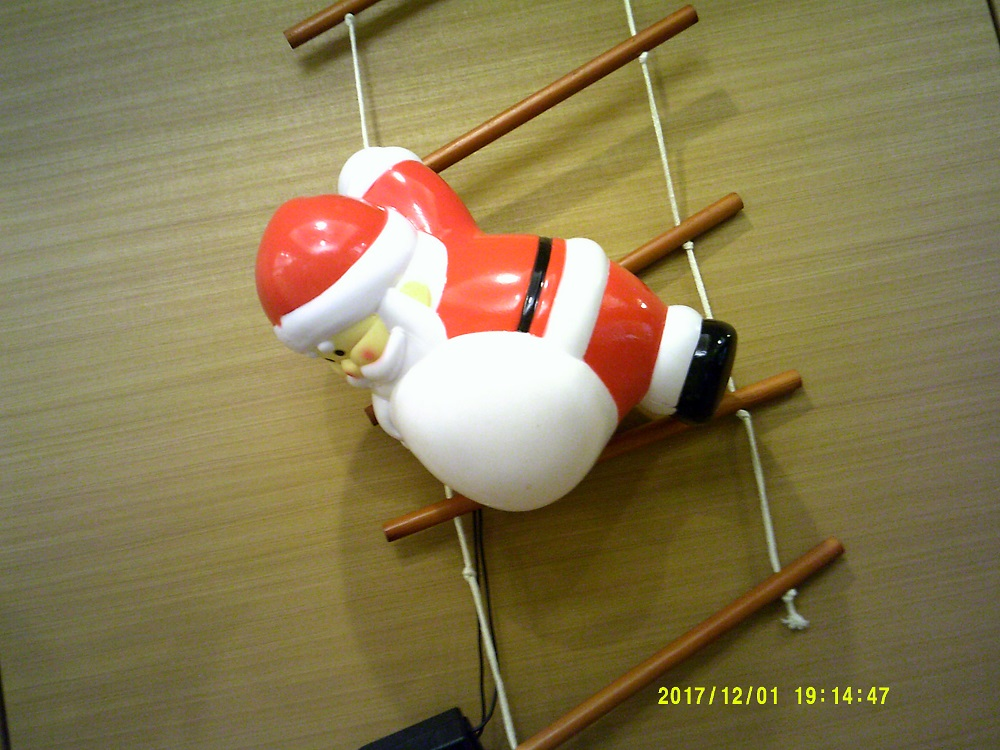 サンタさんもいますよ(^。^)